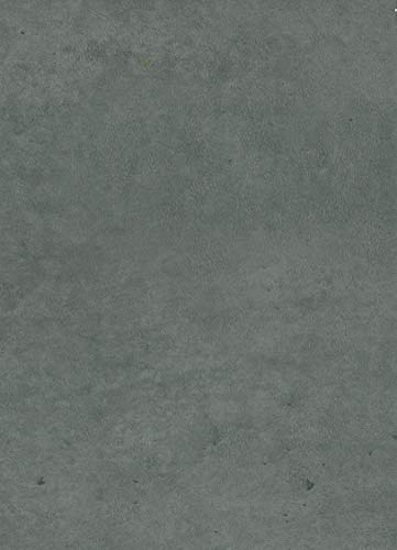 """Slate Grey Peel and Stick Wallpaper – Extra Wide & Thick - 3D Adhesive Cement Wallpaper Faux Textured Look – Removable Paper Adhesive, Backsplash or Shelf Paper – Concrete Stone Wallpaper - 23.6""""x118"""""""