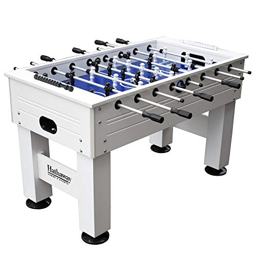 Learn More About Highlander 55-in Outdoor Foosball Table with Waterproof Surface, Anti-Rust Rods, Er...