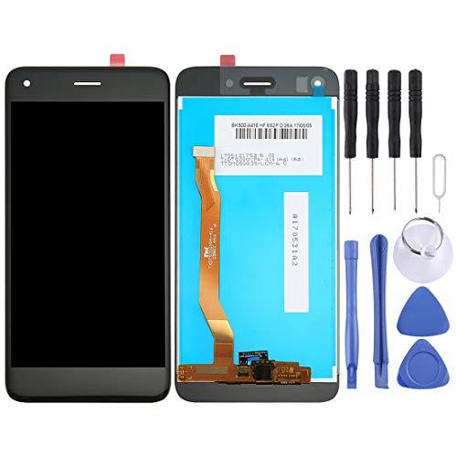 PANTALLA LCD Accesorios DE TELEFONO MOVIL Inteligente ZY Huawei Enjoy 7 / Y6 Pro 2017 / P9 Lite Mini ensamblaje Completo del digitalizador (Negro) (Color : Black)