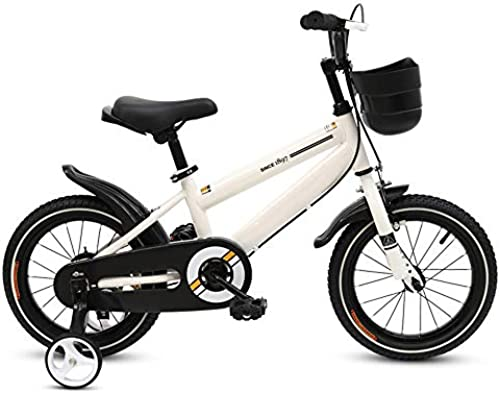 Kinderfürr r HAIZHEN Kinderwagen Freestyle, Verstellbarer Sitz und Griff 12-14-16-18- Zoll-R r, 3 Farben erh lich Für Neugeborene (Farbe   Weiß Größe   12 inch)