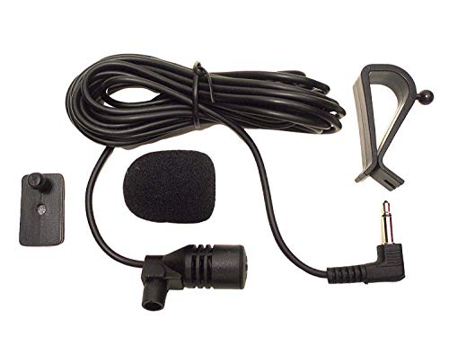 FingerLakes 3.5mm Microphone Assembly Mic for Car Vehicle Head Unit Bluetooth Enabled Stereo Radio GPS DVD