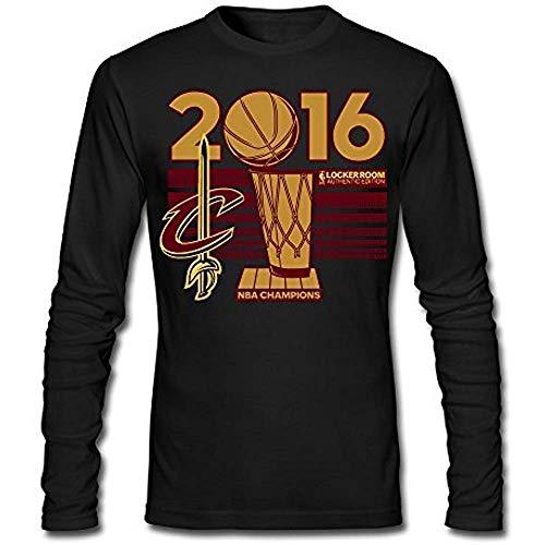 GFTYEUW Men's Cleveland Cavaliers NBA Finals Champions Long Sleeve T-Shirt Size:XXXL