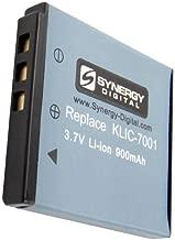 KLIC-7001 Lithium-Ion Battery - Rechargeable Ultra High Capacity (900 mAh) - replacement for Kodak KLIC-7001 Battery