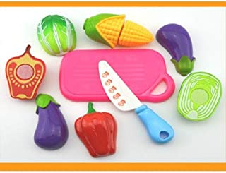 Play Food, Plastic Kids Play Food, Colorful Fruits And Vegetables Pretend Play Food for Pretend Role Playing Christmas Chr...
