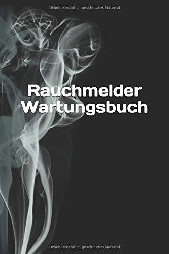 Rauchmelder Wartungsbuch