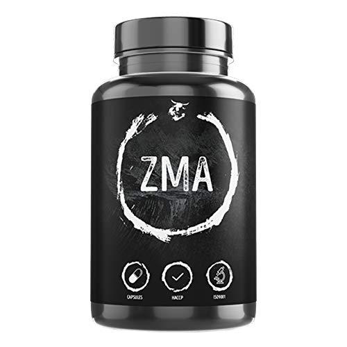 ZMA | 90 gélules végétales | dosage élevé | zinc + magnésium + vitamine B6 | favorise la construction et la fonction musculaire | qualité supérieure made in Germany