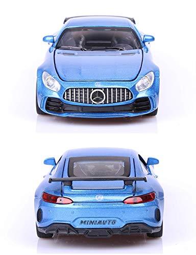 Maßstab Auto-Modell 1:32 Für Mercedes Für Benz Für AMG GTR Legierung Auto Modell Simulation Auto Dekoration...