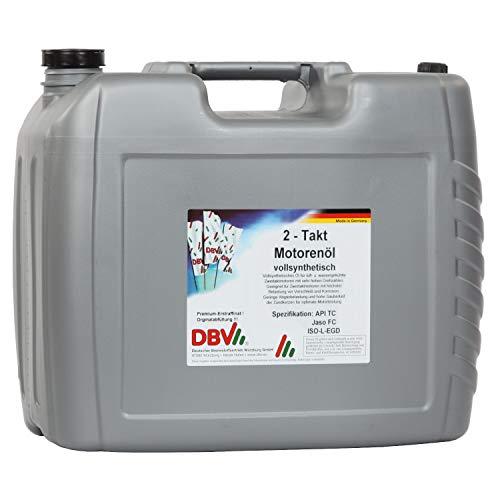 DBV 2-Takt-Öl (vollsynthetisch) 20-Liter-Kanister