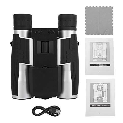 Prismáticos de Exterior para Adultos,Binoculares HD Telescopio de cámara Digital Multifuncional con Pantalla de 2 Pulgadas para binoculares al Aire Libre