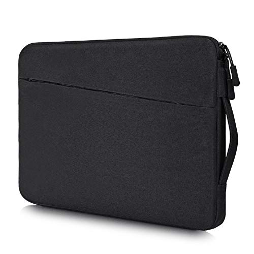 13.5-15 Inch Waterproof Laptop Sleeve Men Women Briefcase for Dell XPS 15 9570 7590, Lenovo Yoga C930 13.9', Acer Chromebook 14, Surface Laptop 3 2/Book 13.5, HP ASUS Chromebook Carring Case, Black