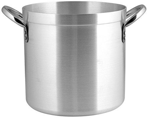 Pardini Omnia pan, cilindrisch, met 2 handgrepen, van aluminium, zilverkleurig, 18 cm, inhoud: 4,8 l