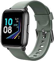 YAMAY Smartwatch Pressione Sanguigna con Saturimetro Cardiofrequenzimetro Orologio Fitness per Uomo Donna Impermeabile...