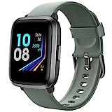 YAMAY Smartwatch con Saturimetro Misuratore Pressione Cardiofrequenzimetro Orologio Fitness Uomo Donna Impermeabile Smart Watch Touch Fitness Tracker Contapassi Cronometro ECG per Android iOS