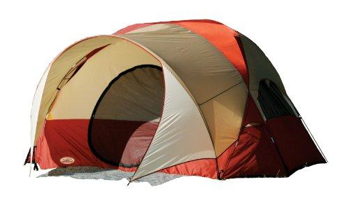 Texsport Clear Creek 3 Person Vestibule Tent (Red/Tan, 8-Feet X 10-Feet X 74-Inch)