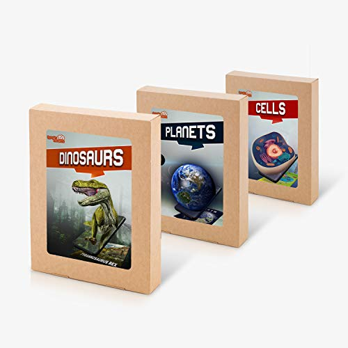 top 10 augmented reality flash cards BrainSTEM Planets, Dinosaurs, Cell 4D Flashcards with Augmented Reality | Interactive STEM…