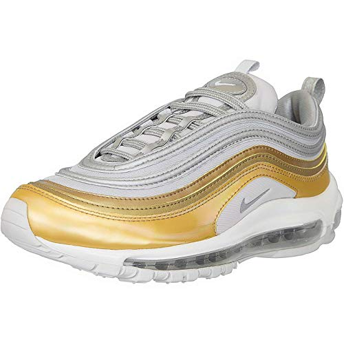 Nike Air Max 97 Sneaker Trainer (41 EU, Silber metallic Gold)