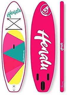 "HENALU Paddle Surf Hinchable - NALU 9´ x 32"" x 4´75 Incluye Remo, hinchador, Mochila y quilla."