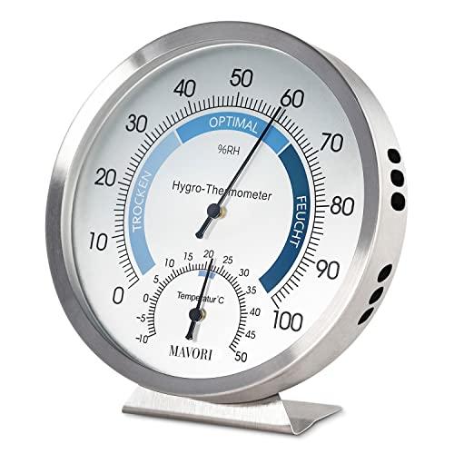 MAVORI Thermo-Hygrometer analog Bild