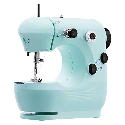Easycoy - Máquina de coser, color azul azul