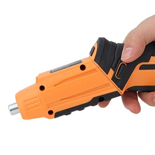 Destornillador eléctrico, destornillador de batería recargable de mano, industria para hombres, mujeres, uso doméstico