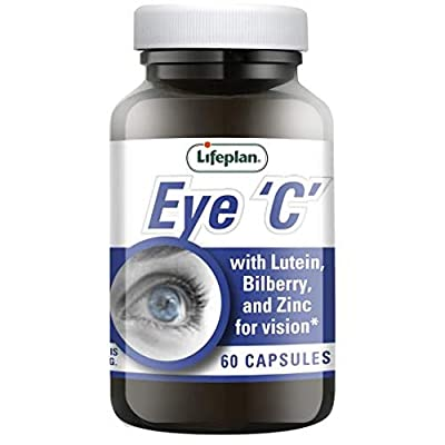 Lifeplan Eye 'C' with Lutein Bilberry and Zinc 60 Capsules