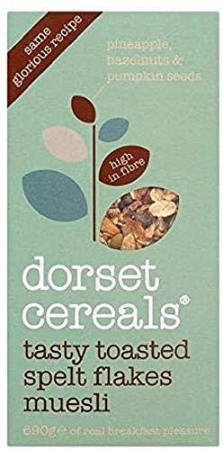 Dorset Cereals Tasty Toasted Spelt Flakes Muesli 570 g Pack of 5