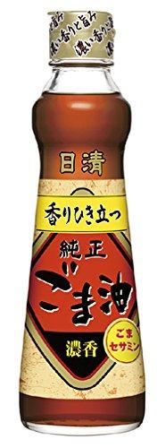 日清オイリオ 純正ごま油 濃香 瓶250g