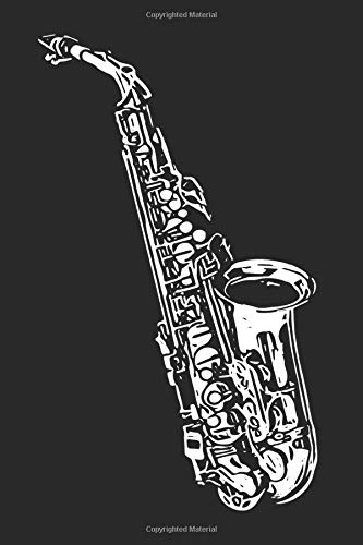 Saxophone Player Notebook: Notes For Saxophone Player