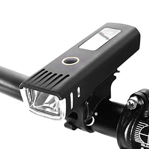 WYZQ Bike Light Bike Sensor Battery Display Led Bicycle Light Lantern for Bicycle Cycling Flashlight Waterproof USB Lamp Accessories,led headlamp