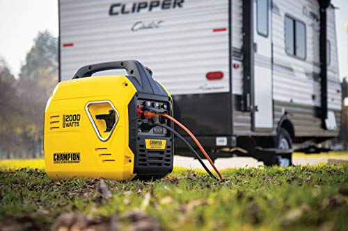 Champion Power Equipment 100692 2000-Watt Portable Inverter Generator, Ultralight