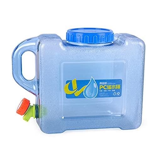 powers 5L 10L Wasserspender kanister mit Wasserspender Reise Desktop Container Getränk Tank Drink Nachfüllbares Regal großartig Wasserhahn für LKW Camping Camping wasserkanister