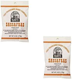 Claeys Old Fashioned Hard Candy Variety Two Pack - Sassafras 2 Pack - 12 Oz Total Weight