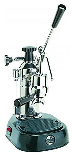 La Pavoni enq de café/cafetera expreso manual Reservorio 0.8Litros Potencia 1000W color acero inoxidable/negro