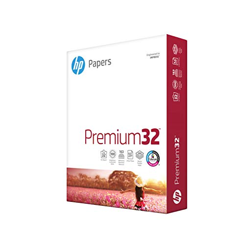 HP Premium Choice LaserJet Paper Paper, polietileno, 14,5 kg, 8,5 x 11, Letter, 500 hojas/1 risma Made in the USA