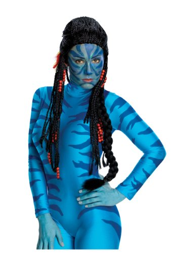 Rubie's Women's Avatar Neytiri Deluxe Costume Wig, Black, One Size