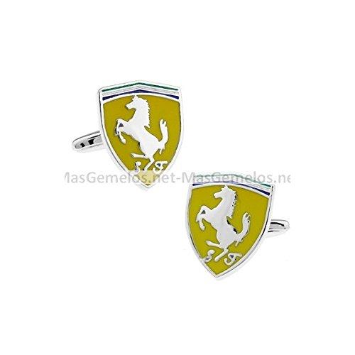 MasGemelos - Gemelos Ferrari Cufflinks