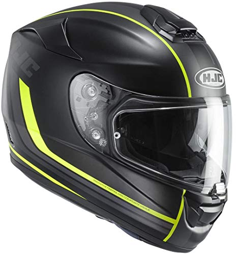 HJC RPHA ST Stacer Helm XS (53/54) Schwarz Matt/Neon
