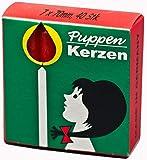 Herr Bo & Co Puppenkerzen 70 x 7mm, 40 Stck, rot Weihnachtsbaumkerze