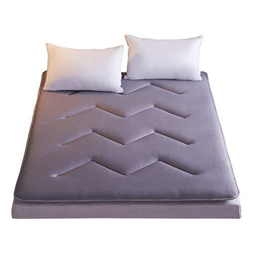 LYLJ anti-slip ademend tatami-matras, dikke futonmatras, zachte bekleding, Japans, opvouwbaar, 120 × 200 voor studenten, slaapkamer, woonkamer