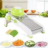 Cortador de frutas y verduras, rallador multifunción de acero inoxidable, rallador de cocina, 40 x 14 x 14 cm, para...