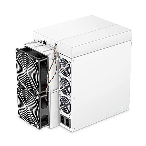73HA73 Antminer S19PRO 110TH / S Bitcoin Minería Consumo de Energía de Pared de 3360 W con 3 Ventiladores de Refrigeración