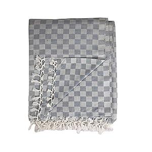 Riyashree Organic Cotton Silky Soft 3D Bhagalpuri Dull chadar Designer Blanket & Duvet ( 52*94 in ) RICoDull 037