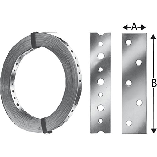 Simpson BAN102003 gatenband BAN 20x1,0/3 meter thermisch verzinkt (BAN10203)