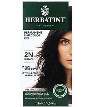 Herbatint Permanent Haircolor Gel 2N Brown 4.56 Ounce