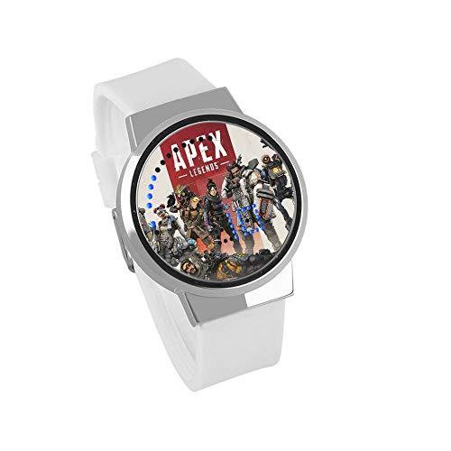 Smartwatches,Persönliche Touchscreen Led-Uhr Escape Hero Spielanimation Um DREI Grad Wasserdicht C