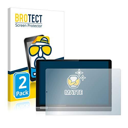 BROTECT 2X Entspiegelungs-Schutzfolie kompatibel mit Lenovo Yoga SmartTab Bildschirmschutz-Folie Matt, Anti-Reflex, Anti-Fingerprint