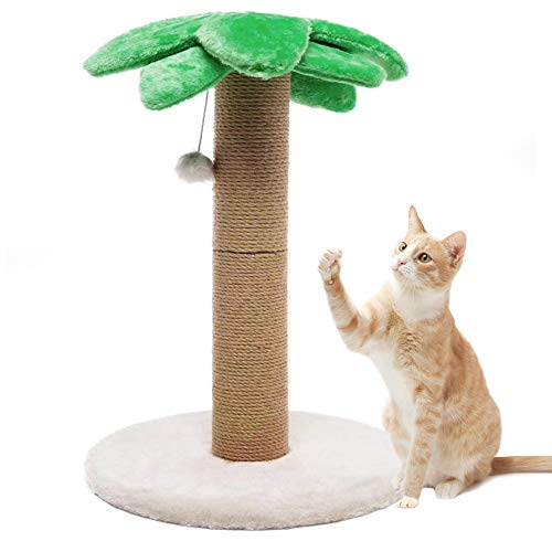 LUCKITTY Small Cat Scratching Post