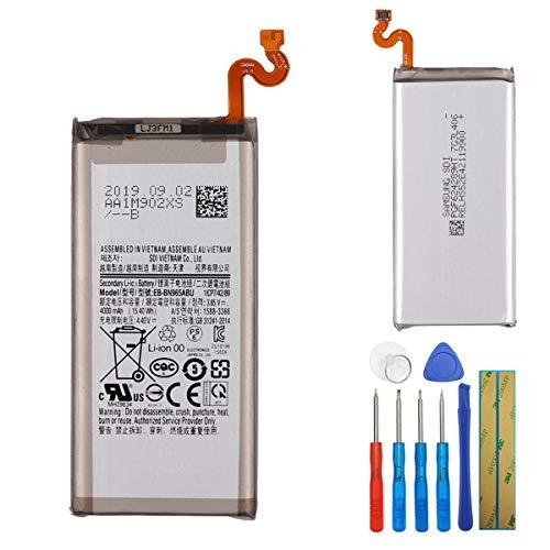 E-yiiviil EB-BN965ABU - Batteria di ricambio compatibile con Samsung Galaxy Note 9 SM-N9600 N9600 4000 mAh con strumenti