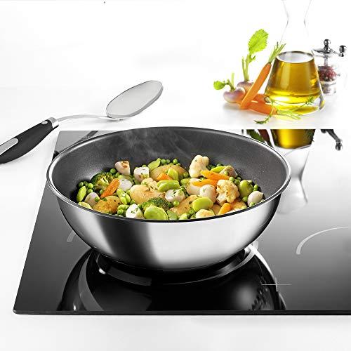 Tefal INGENIO Preference - Sartén wok de 26 cm de inducción, antiadherente, mango que se vende por separado L9407702