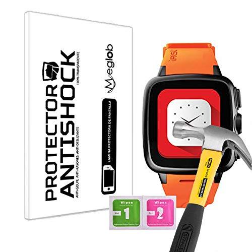 Protector de Pantalla Anti-Shock Anti-Golpe Anti-arañazos Compatible con Intex IRist Smartwatch